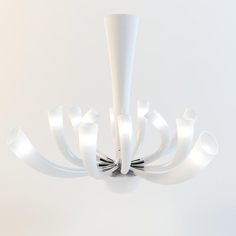 Barovier Toso Murano Glass Fuochi Artificiali Chandelier