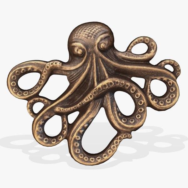 FG Octopus 3D Models