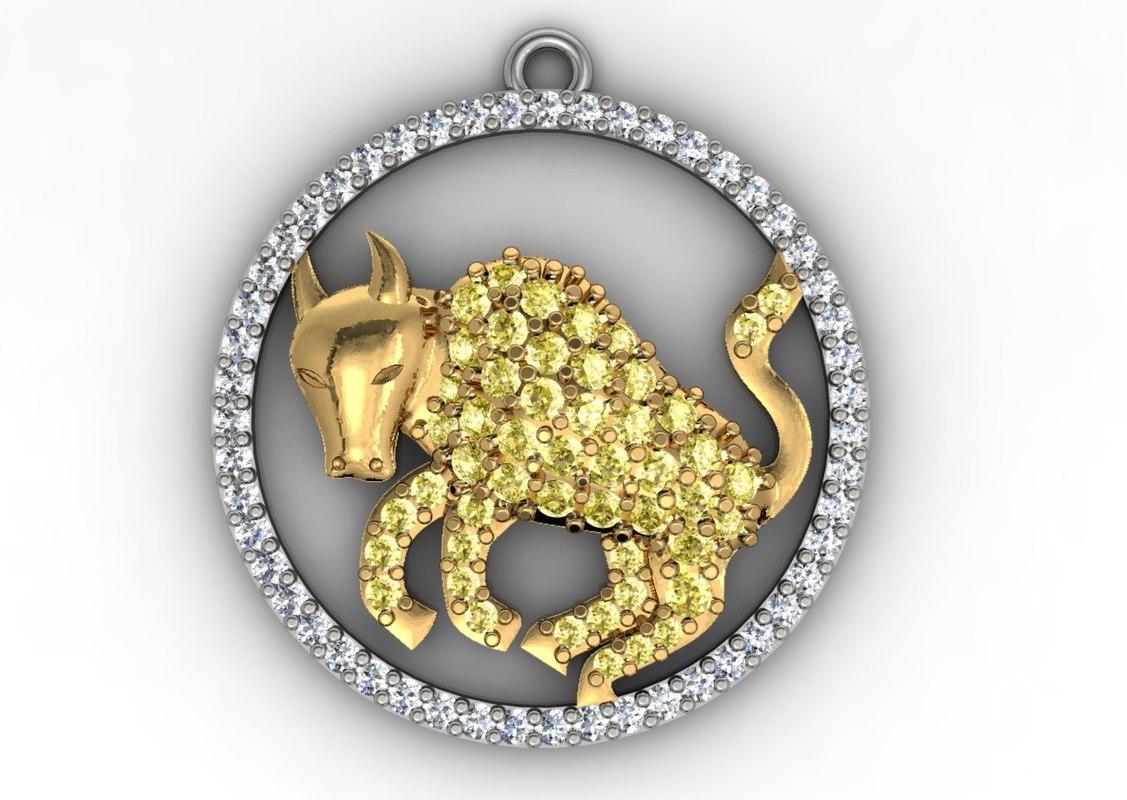 3d model gold diamond