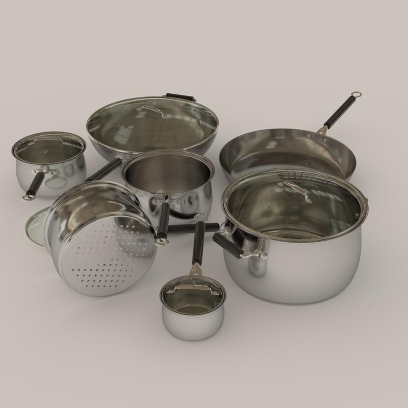 Saucepan pot set