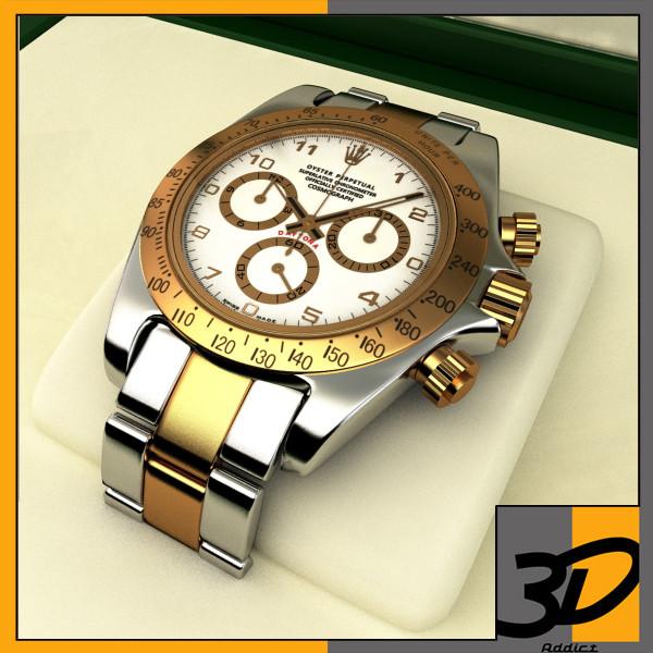 Gold Plated Rolex Daytona