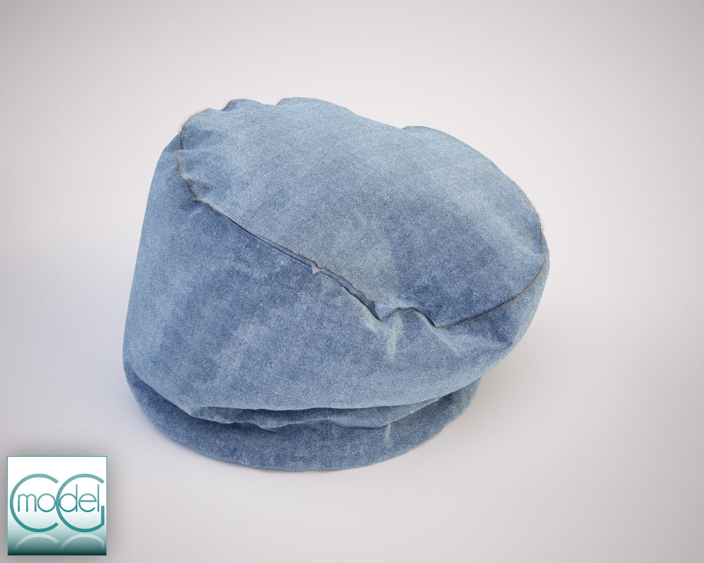 round pouf 11