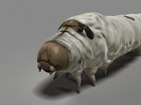 Silkworm 3D models
