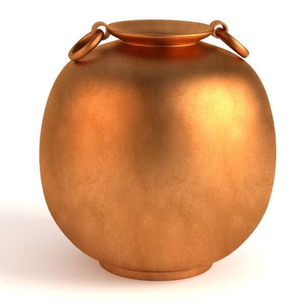 antique pot 3d