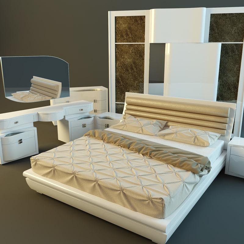 Bedroom Rubino from Treci