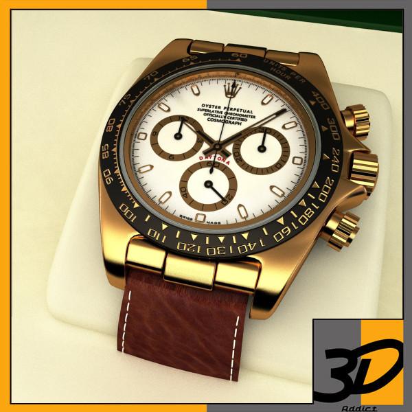 Rolex Daytona leather