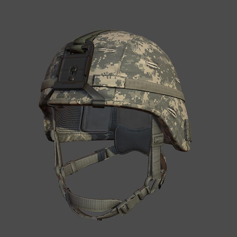 obj army helmet