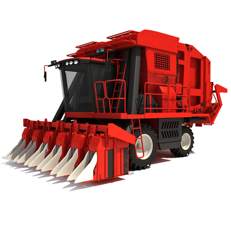 Cotton Picker Harvester