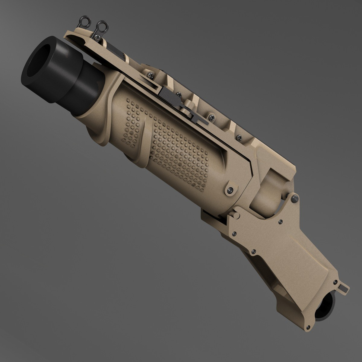 EGLM ARES SCAR Grenade Launcher (TAN) (Tan)