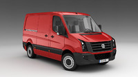 VW Crafter 3D models