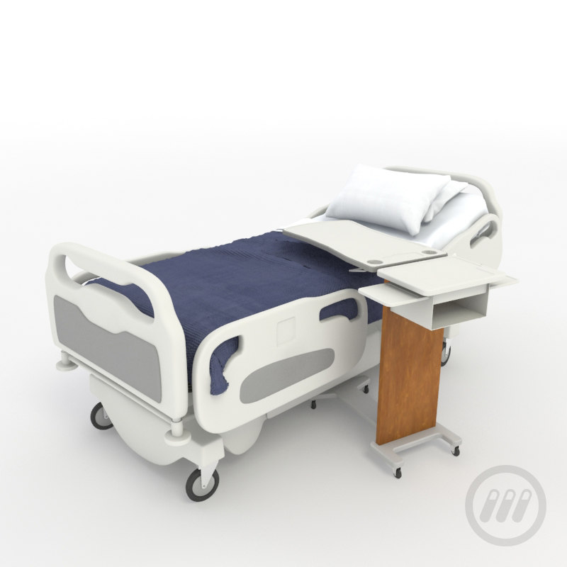 Hospital Bed D Max Model Free Download
