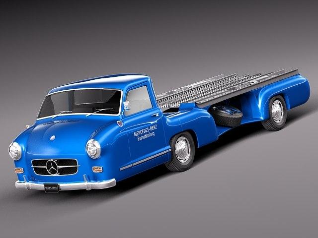 Mercedes Renntransporter 1954