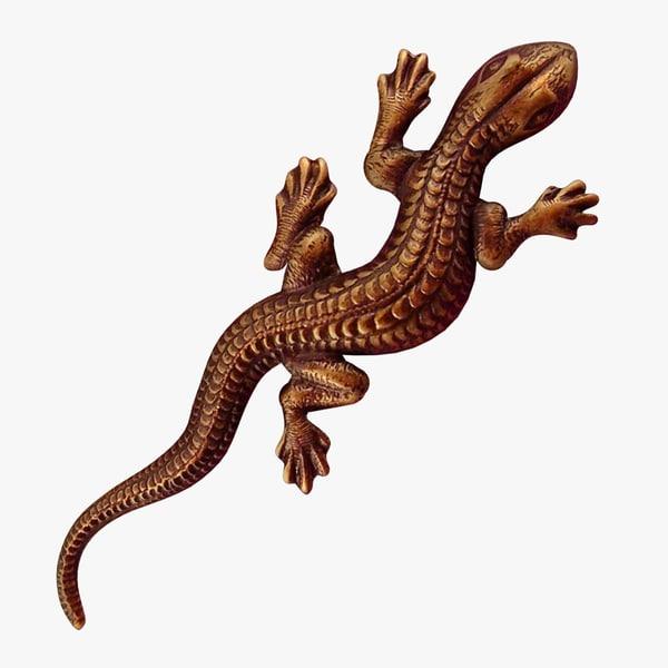 FG Copper Salamander 3D Models