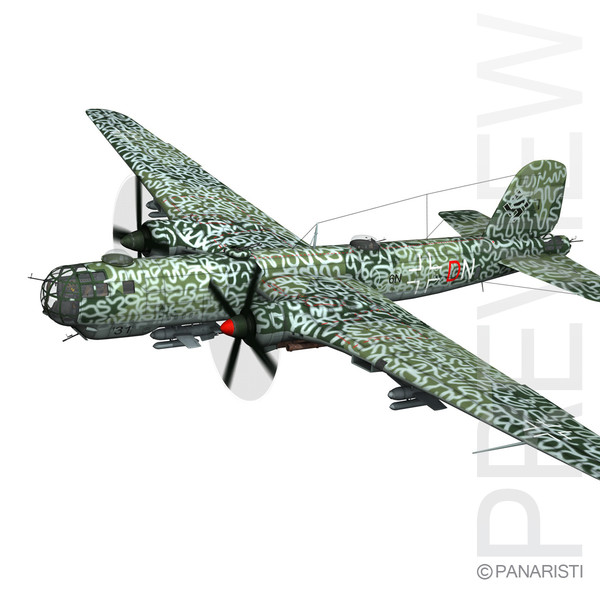 Heinkel He-177 A-5 - Greif - Navy 3D Models