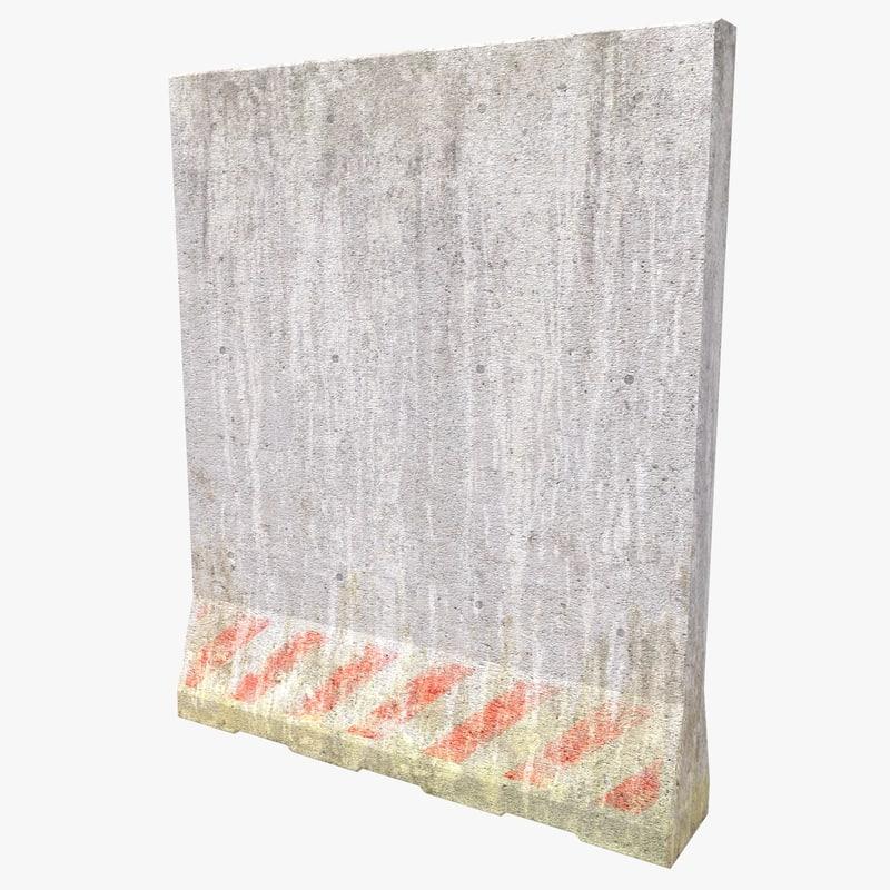 High Concrete Block