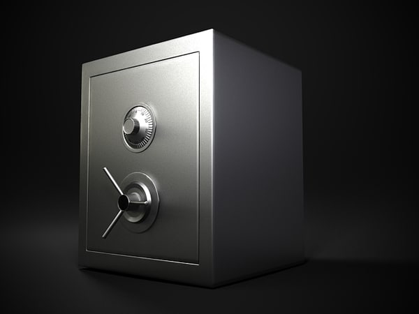 Money Case Safe Storage Cash Box Texture Maps