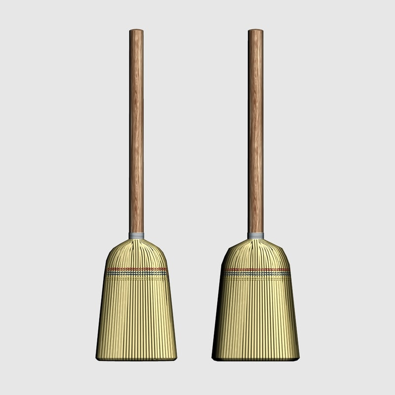 Brooms_lowpoly/smooth