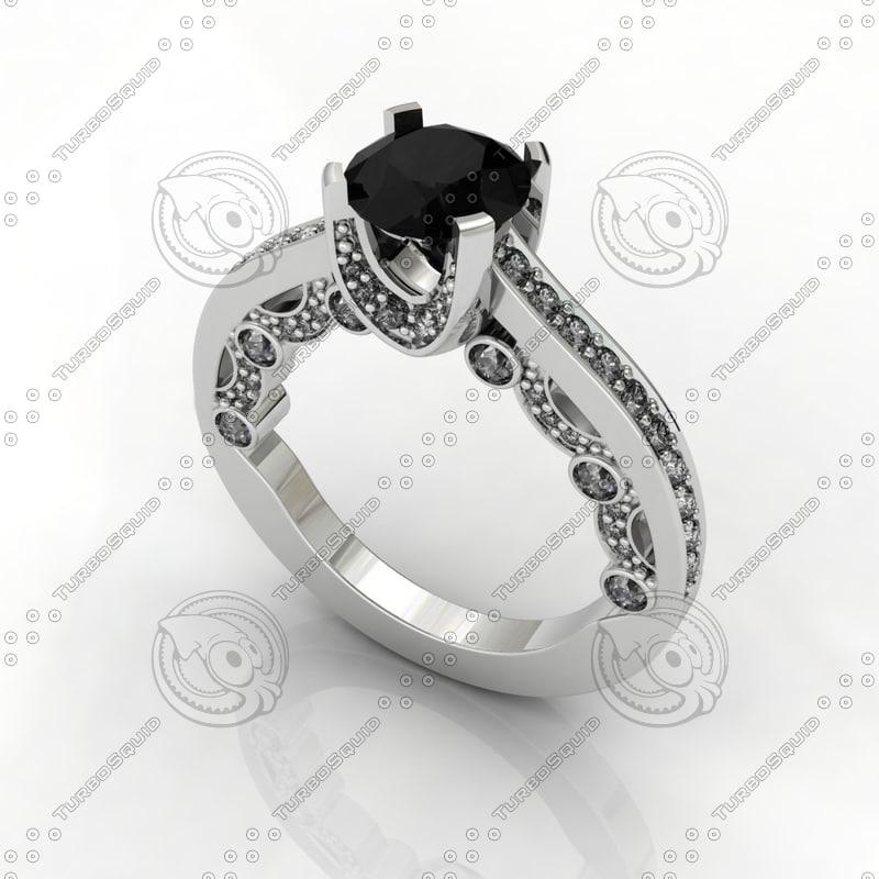 Diamond Ring 4 Prong