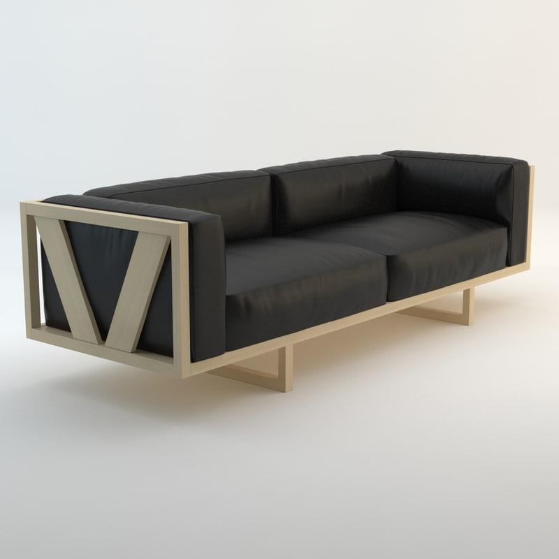EJ-555 Frame Sofa