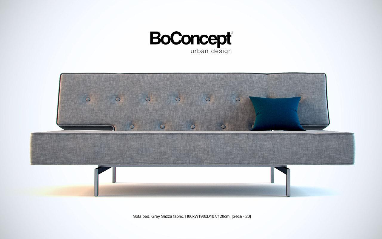 BoConcept  Sofa bed [Ceca-20] 3DsMax model