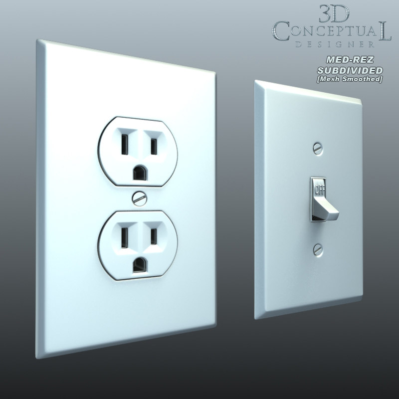 Wall Plug Light Switch : max light switch wall plug