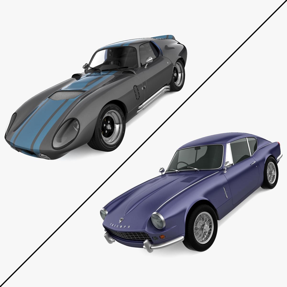 Retro Cars Collection 17