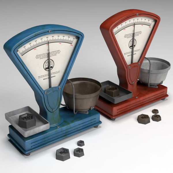Old Balance 3D Models