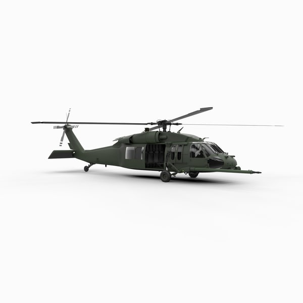 Blackhawk UH60 3D Models