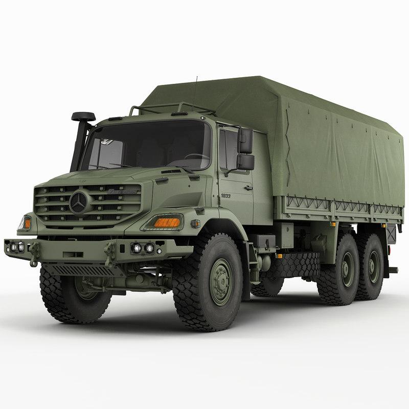 Mercedes Zetros Military 6X6