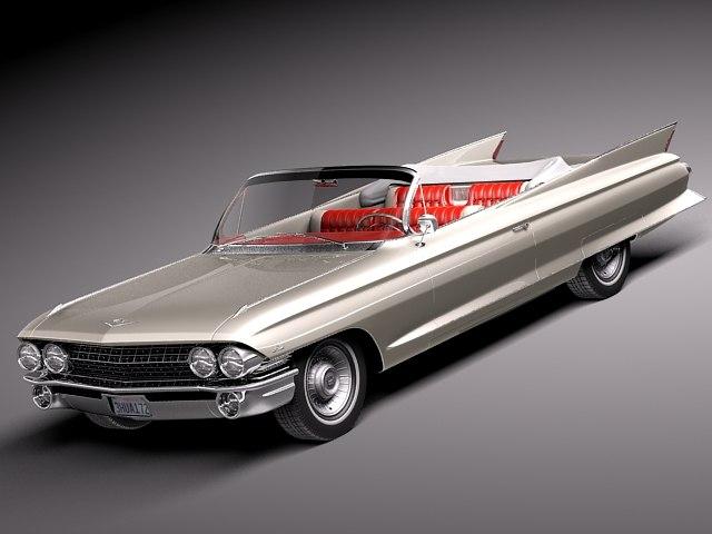 Cadillac 1961 Eldorado Convertible