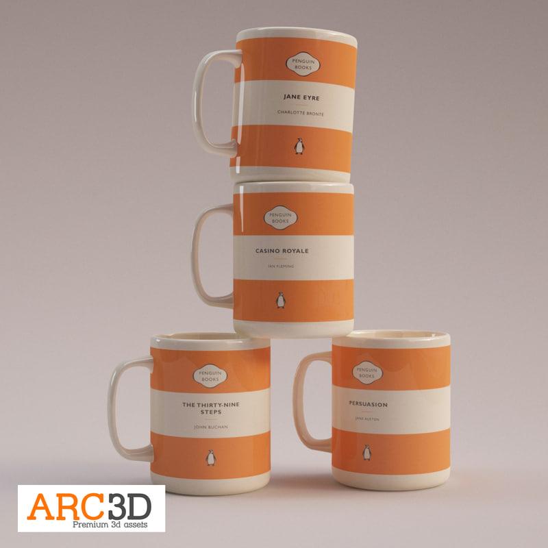 Penguin Classics Coffee Mugs