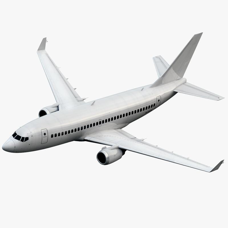 3d plane airplane generic model