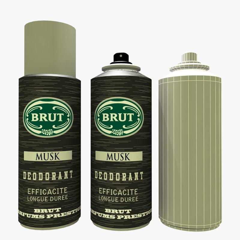 Bottle Of Perfume Brut