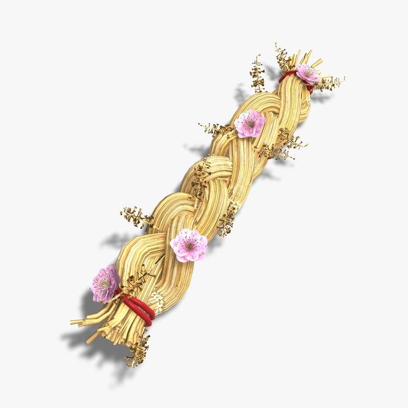 Ornamental Straw Plait