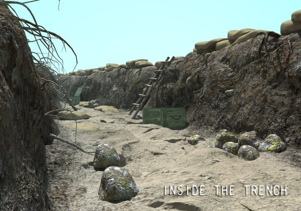 trench 3D Models