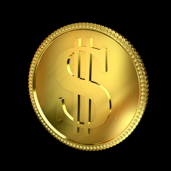 Golden Coin 3D Models