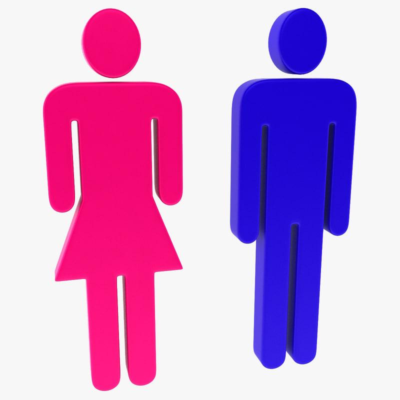 Symbols Bathroom