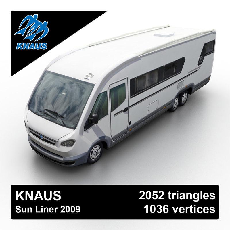 Knaus Sun Liner 2009