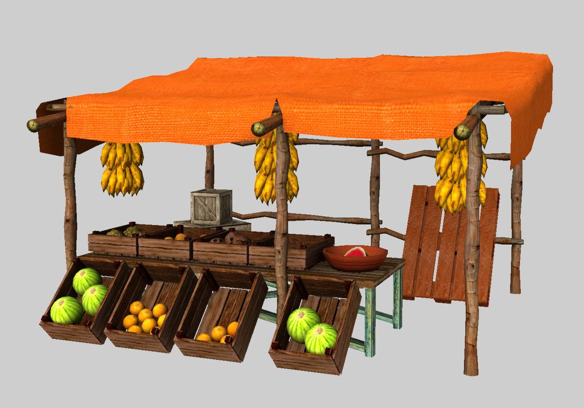 Arabic Fruit Stall