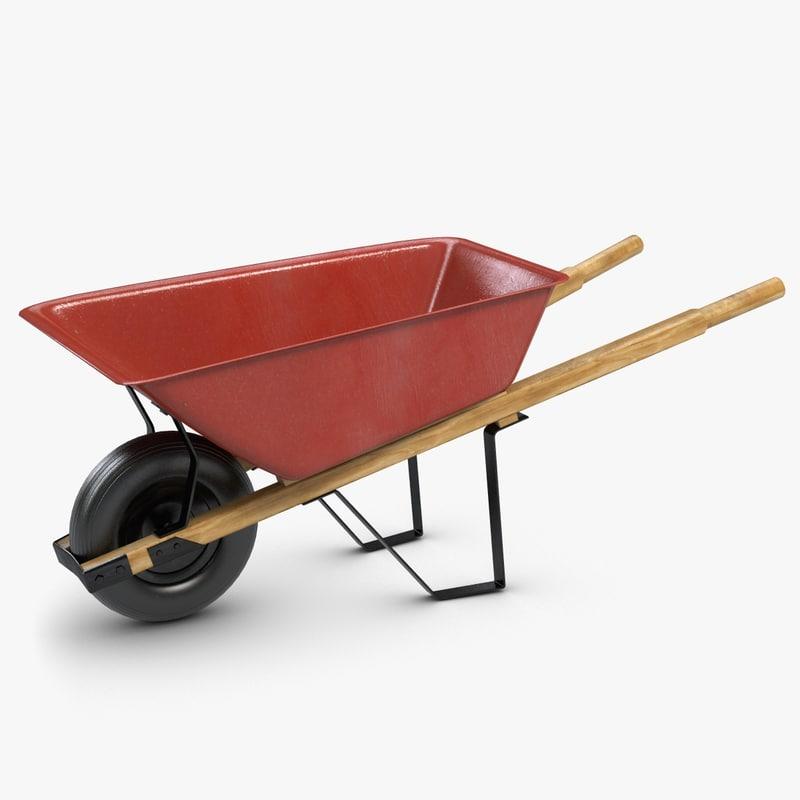 Wheelbarrow 2 Red