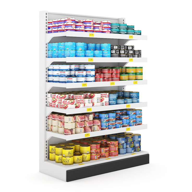 Supermarket Shelf 05