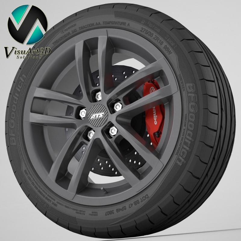 Wheel ATS Radial