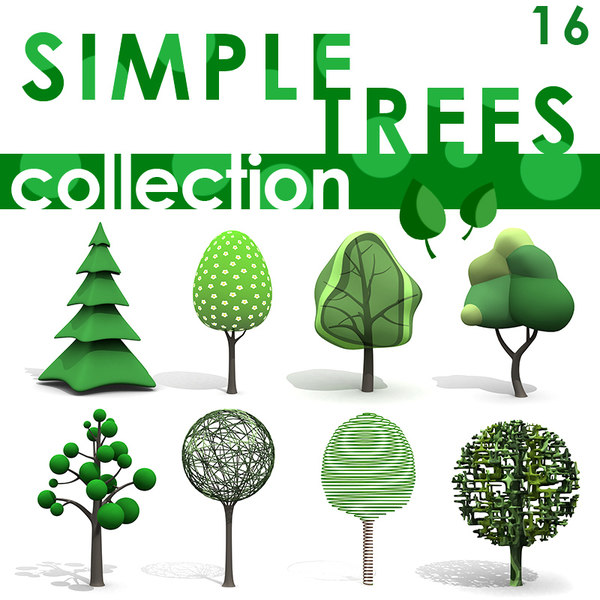 Simple Trees Texture Maps