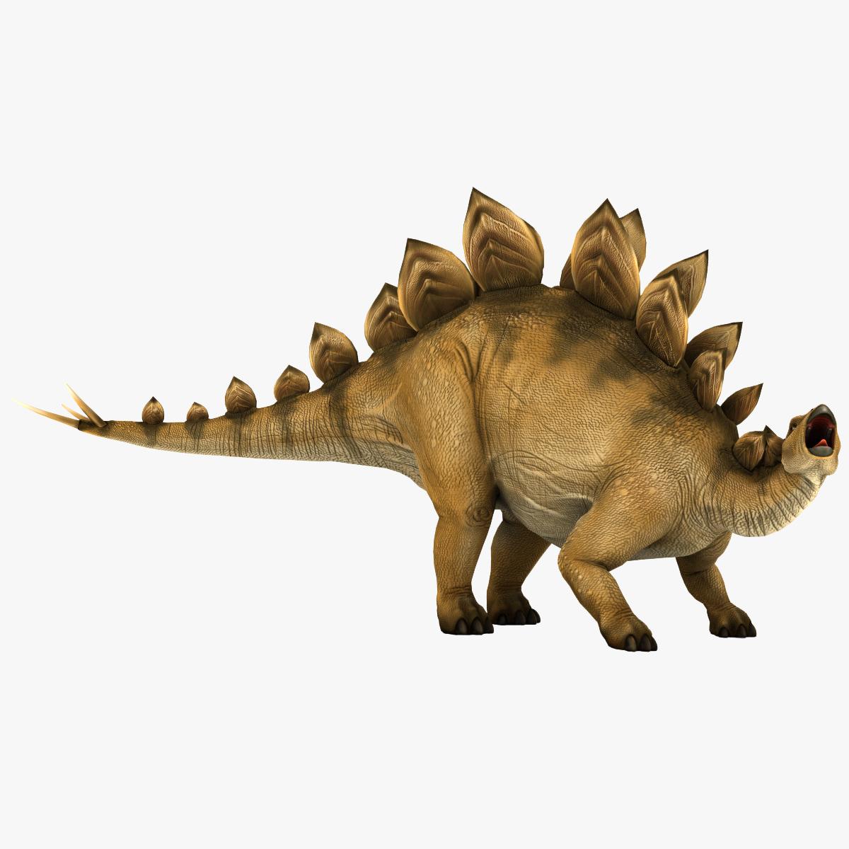 Stegosaurus Pose 2