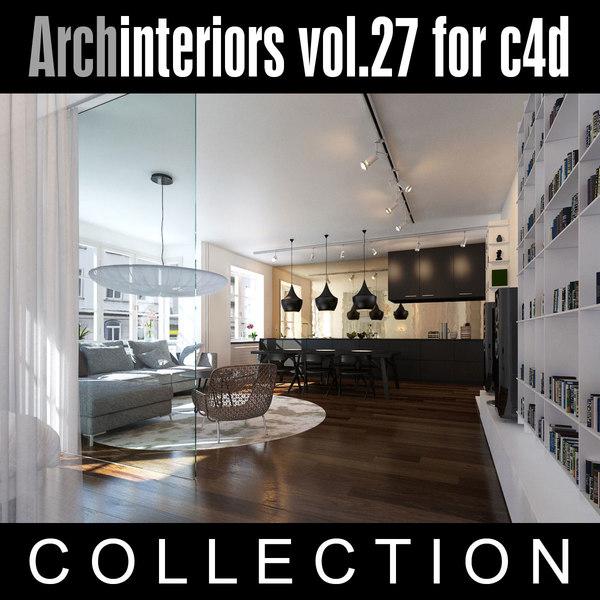 Archinteriors vol. 27 for c4d 3D Models