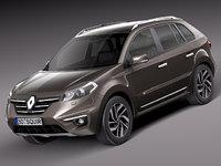 Renault Koleos 3D models