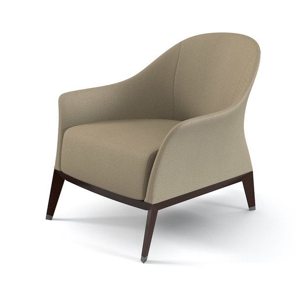 Giorgetti 51050 Normal Armchair 3D Models