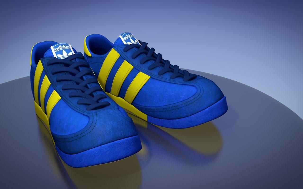 3d model sport shoes 2