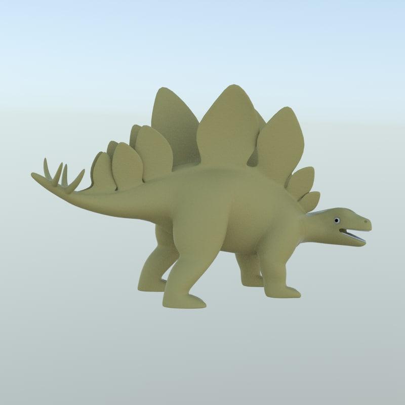 Stegosaurus toy