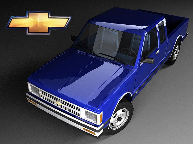 Chevrolet S-10 Ext Cab FL Mk1